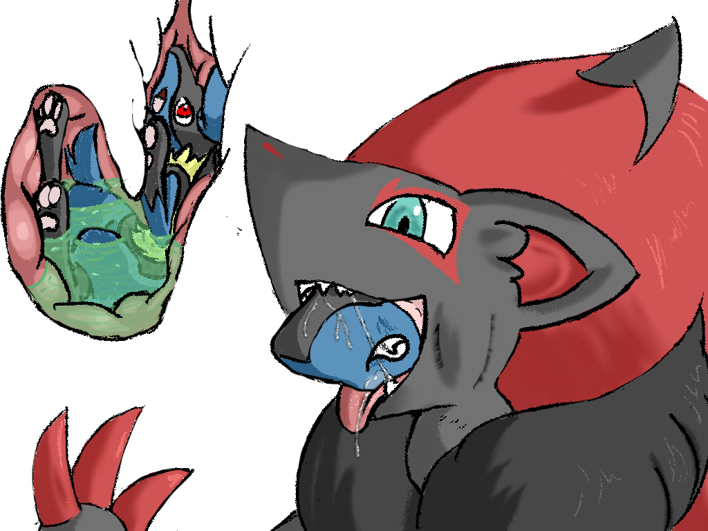 Lucario And Zoroark Kiss | www.pixshark.com - Images ...