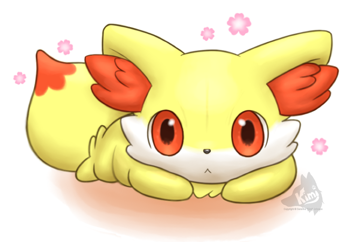 How To Draw Fennekin From Pokemon X And Y Pictures Pin On Pinterest