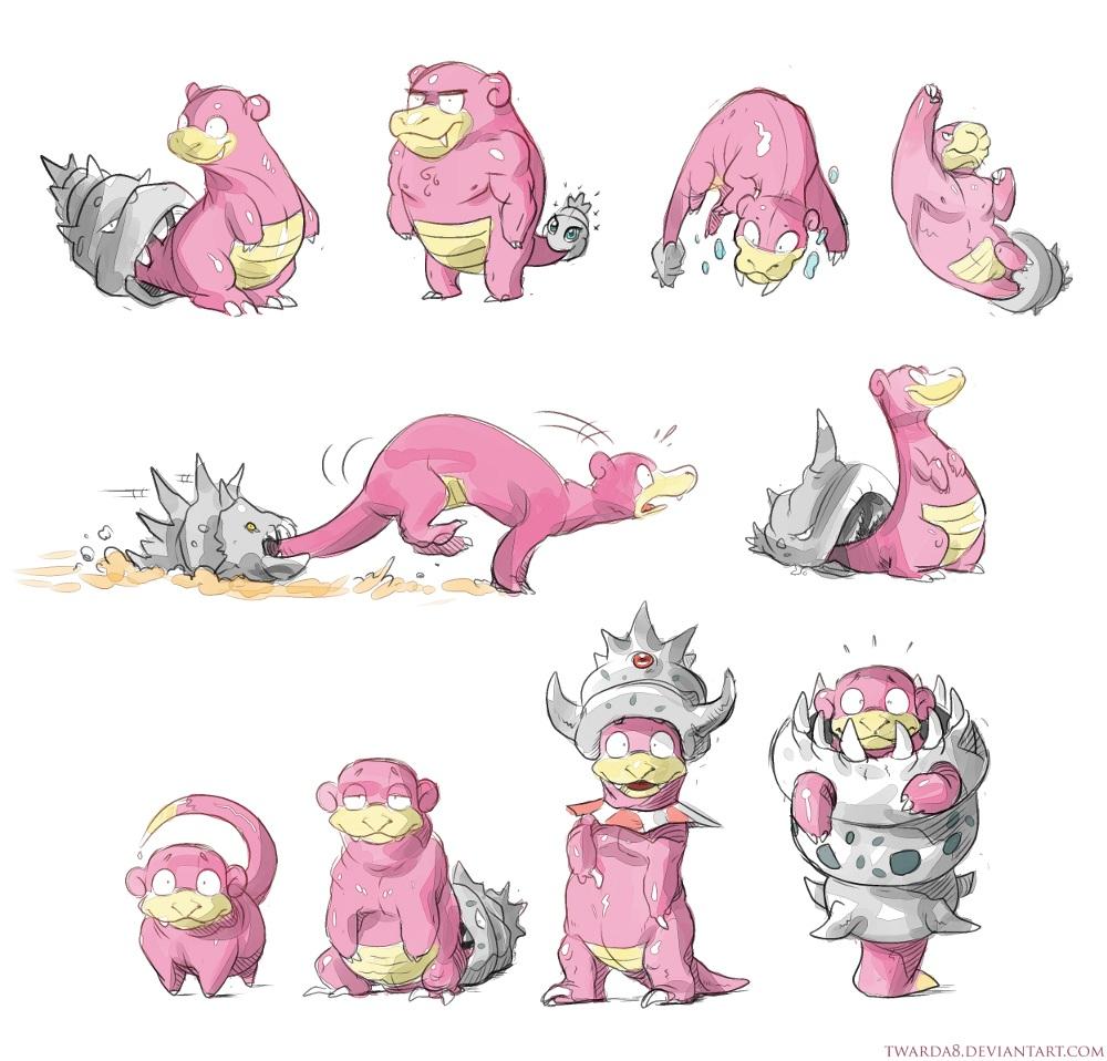 Pics For > Slowking Mega Evolution