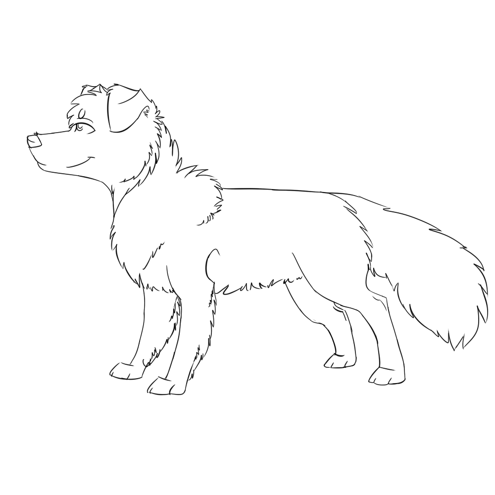 rough collie coloring pages - photo#33