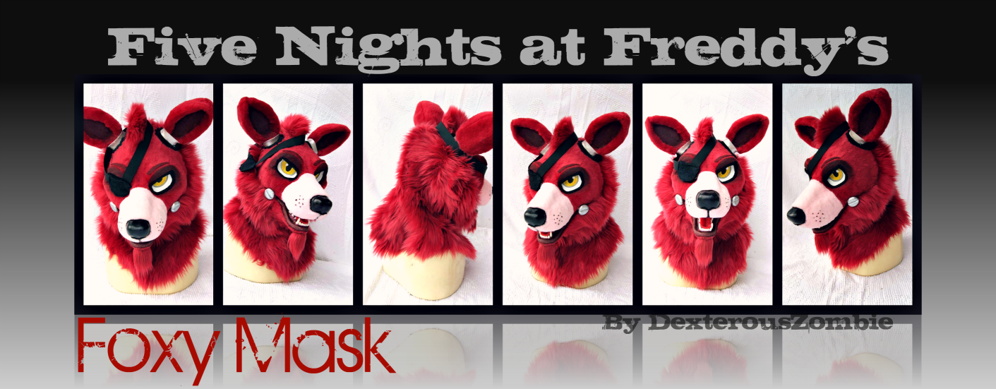 Five nights at freddy s foxy mask for sale by dexterouszombie