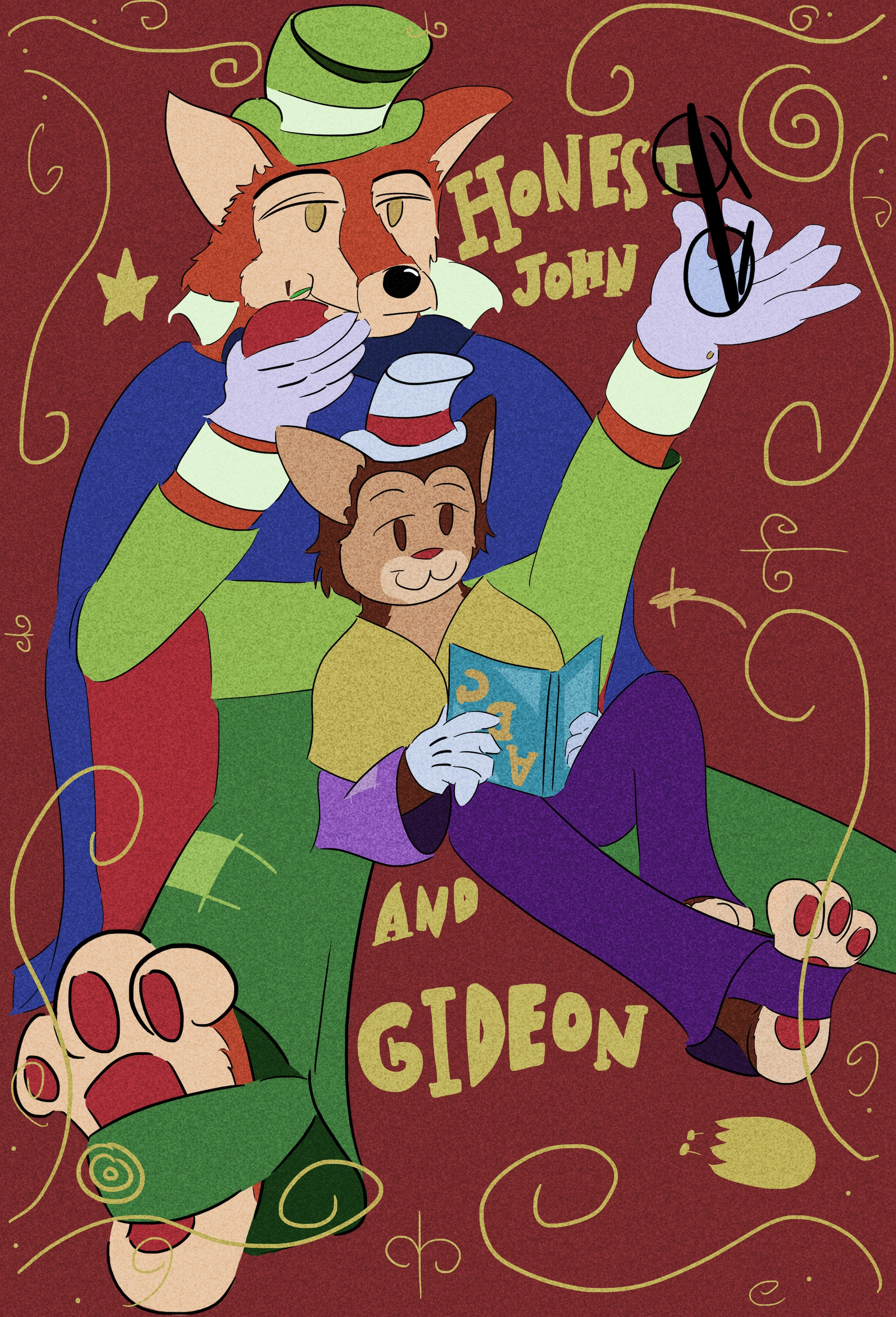 Honest John and Gideon by kuzonHonest John And Gideon