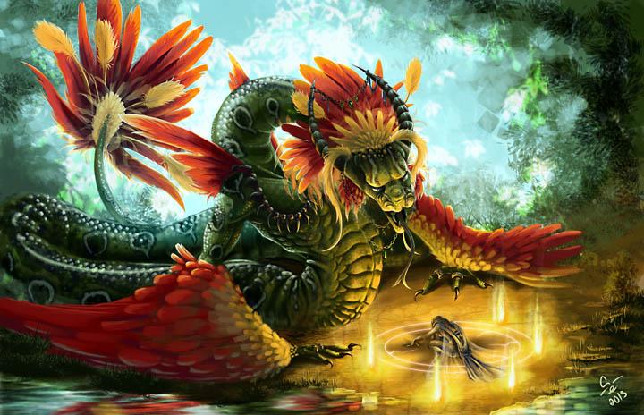 Serpent god by nezumi critique requested