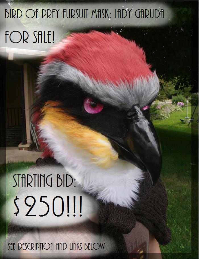 how to make a bird fursuit head