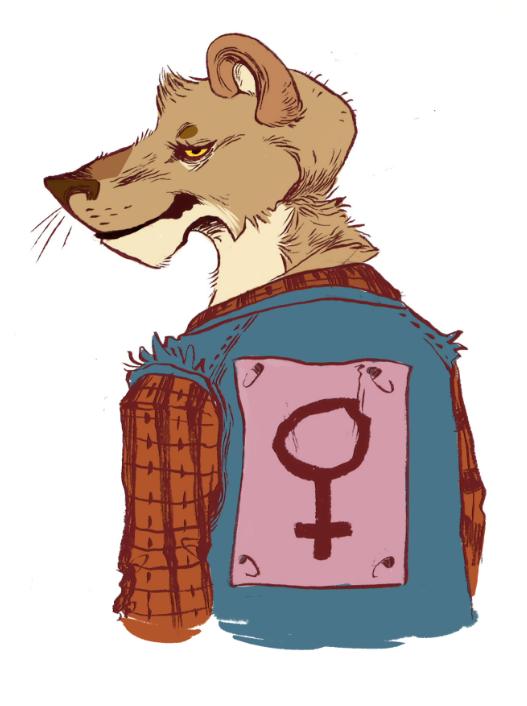 Lesbian Lion 110
